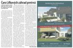 O Lifkových záhradách - O Lifkových záhradách, aké boli kedysi. (Uverejnené v Trenčianskom Echu 11/5/2012)
