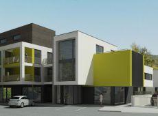 Rezidenčný komplex - Pohľad z Olbrachtovej ulice