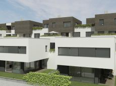 Rezidenčný komplex - Južný pohľad