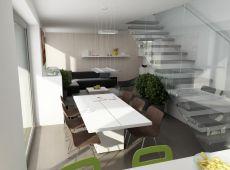Rezidenčný komplex - interiér bytu A3