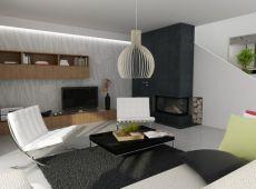Rezidenčný komplex - interiér bytu B1