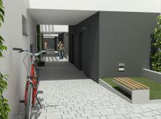 Rezidenčný komplex - Pohľad na vnútornú komunikáciu